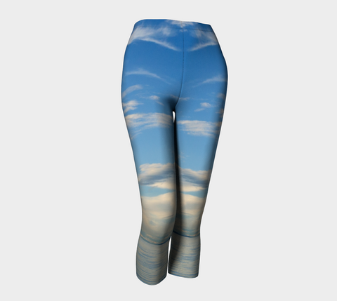 Qualicum Beach Capris by Van Isle Goddess of Vancouver Island