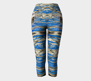 Seal Of Blue Capris by Roxy Hurtubise full front