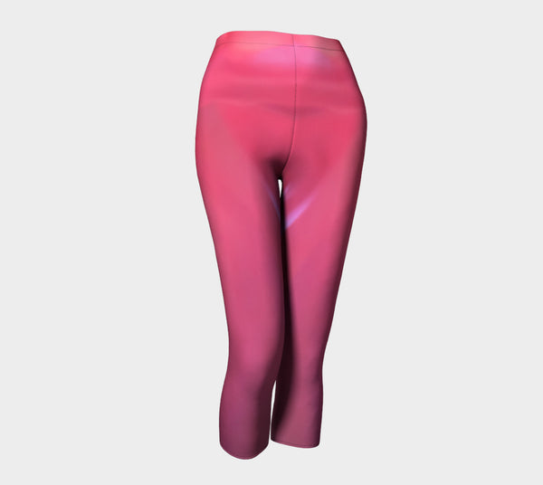 Soft Rose Capris by Roxy Hurtubise front