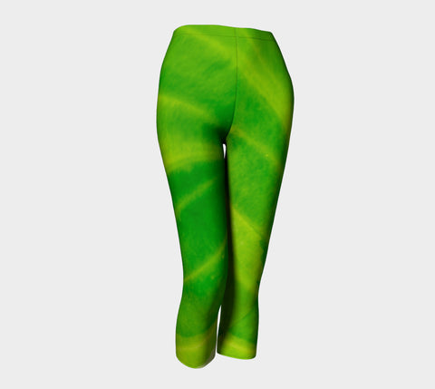 Hosta Green Capris by Roxy Hurtubise front