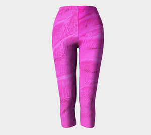 Pink Sand Capris by Roxy Hurtubise full front