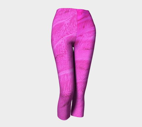 Pink Sand Capris by Roxy Hurtubise front