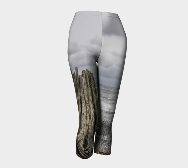 Gray Day Capris by Roxy Hurtubise front