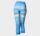 Ocean Blue Capris by Roxy Hurtubise back