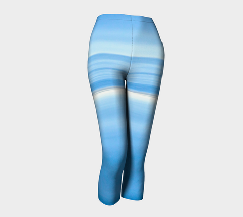 Ocean Blue Capris by Roxy Hurtubise front