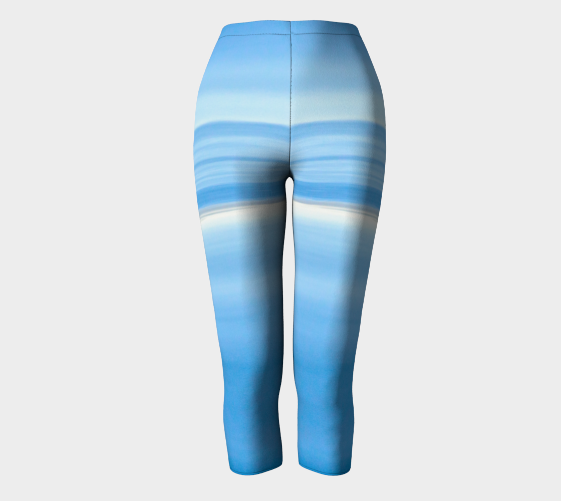 Ocean Blue Capris by Roxy Hurtubise full front
