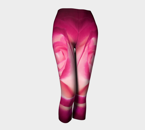 Illuminated Rose Capris by Roxy Hurtubise front