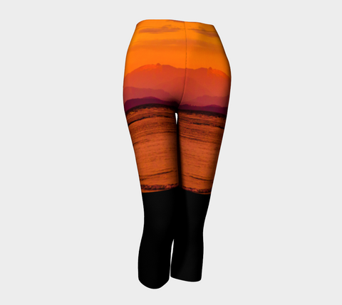 Saratoga Sunset Capris by Roxy Hurtubise front