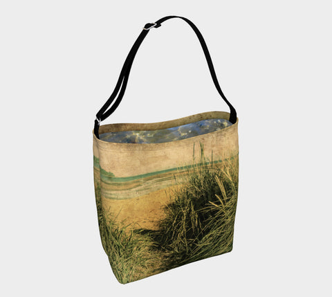 Vintage Beach Day Tote