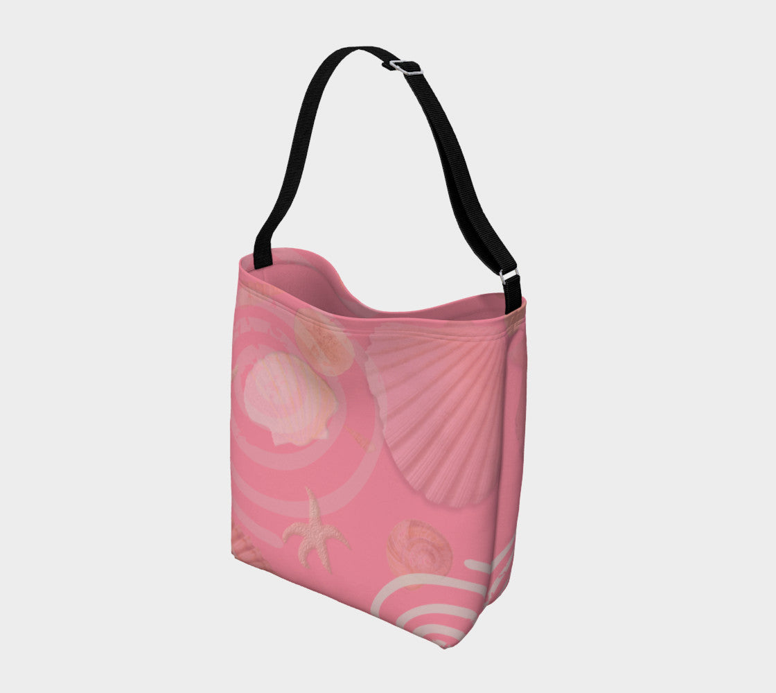 Island Goddess Rose Day Tote  Everyday Day Tote for Everything!  Van Isle Goddess ultimate tote bag!   Adjustable strap for comfort, the tote is made from soft and supple neoprene that stretches to fit whatever you can put in it!    Vibrant artwork that will never fade with washing.  Island Goddess Rose  Artwork by  Roxy Hurtubise with matching rose interior.