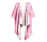Island Goddess Rose Draped Kimono by Van Isle Goddess of Vancouver Island