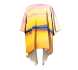 Magic Morning Draped Kimono Back