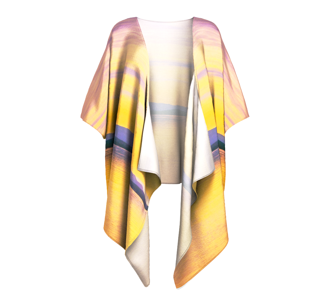 Magic Morning Draped Kimono by Van Isle Goddess of Vancouver Island