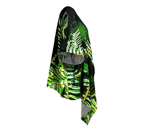 Rainforest Ferns Draped Kimono Rightside