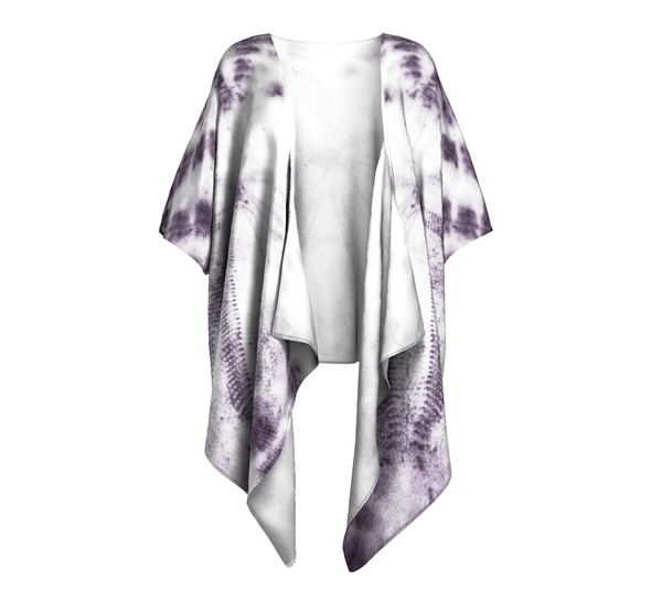 Sand Dollar Draped Kimono by Van Isle Goddess of Vancouver Island