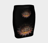 Sun Mask Fitted Skirt by Roxy Hurtubise Front
