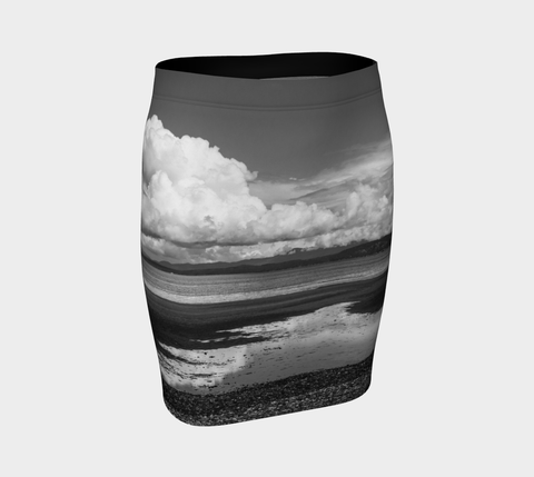 Parksville Beach Fitted Skirt by Roxy Hurtubise Front