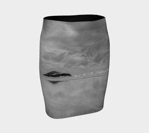Long Beach Tofino Fitted Skirt by Roxy Hurtubise Front