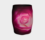 Illuminated Rose Fitted Skirt by Roxy Hurtubise Back