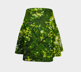 Canopy of Leaves Flare Skirt by Roxy Hurtubise  Back
