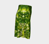 Canopy of Leaves Flare Skirt by Roxy Hurtubise  Right Side