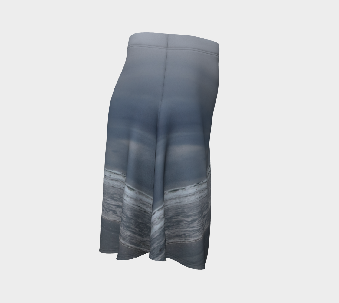 Cox Bay Afternoon Flare Skirt by Roxy Hurtubise Right Side
