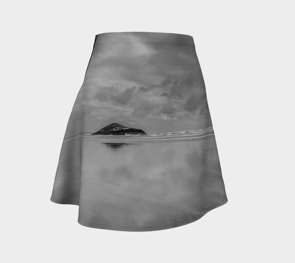 Long Beach Tofino Flare Skirt by Roxy Hurtubise Front