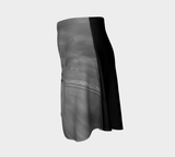 Long Beach Tofino Flare Skirt by Roxy Hurtubise Left Side