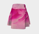 Rose Petal Kiss Flare Skirt by Roxy Hurtubise Back