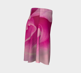 Rose Petal Kiss Flare Skirt by Roxy Hurtubise Right Side