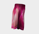 Illuminated Rose Flare Skirt by Roxy Hurtubise Right Side