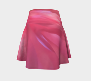 Soft Rose Flare Skirt by Roxy Hurtubise Back