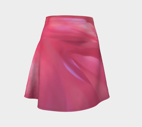 Soft Rose Flare Skirt by Roxy Hurtubise Front