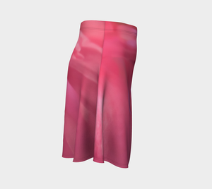 Soft Rose Flare Skirt by Roxy Hurtubise Right Side