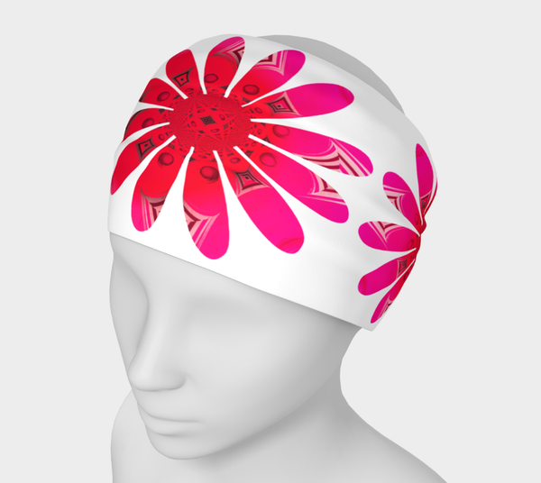 Activated In White Headband by Roxy Hurtubise