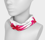 Activated In White Headband by Roxy Hurtubise as worn around the neck.