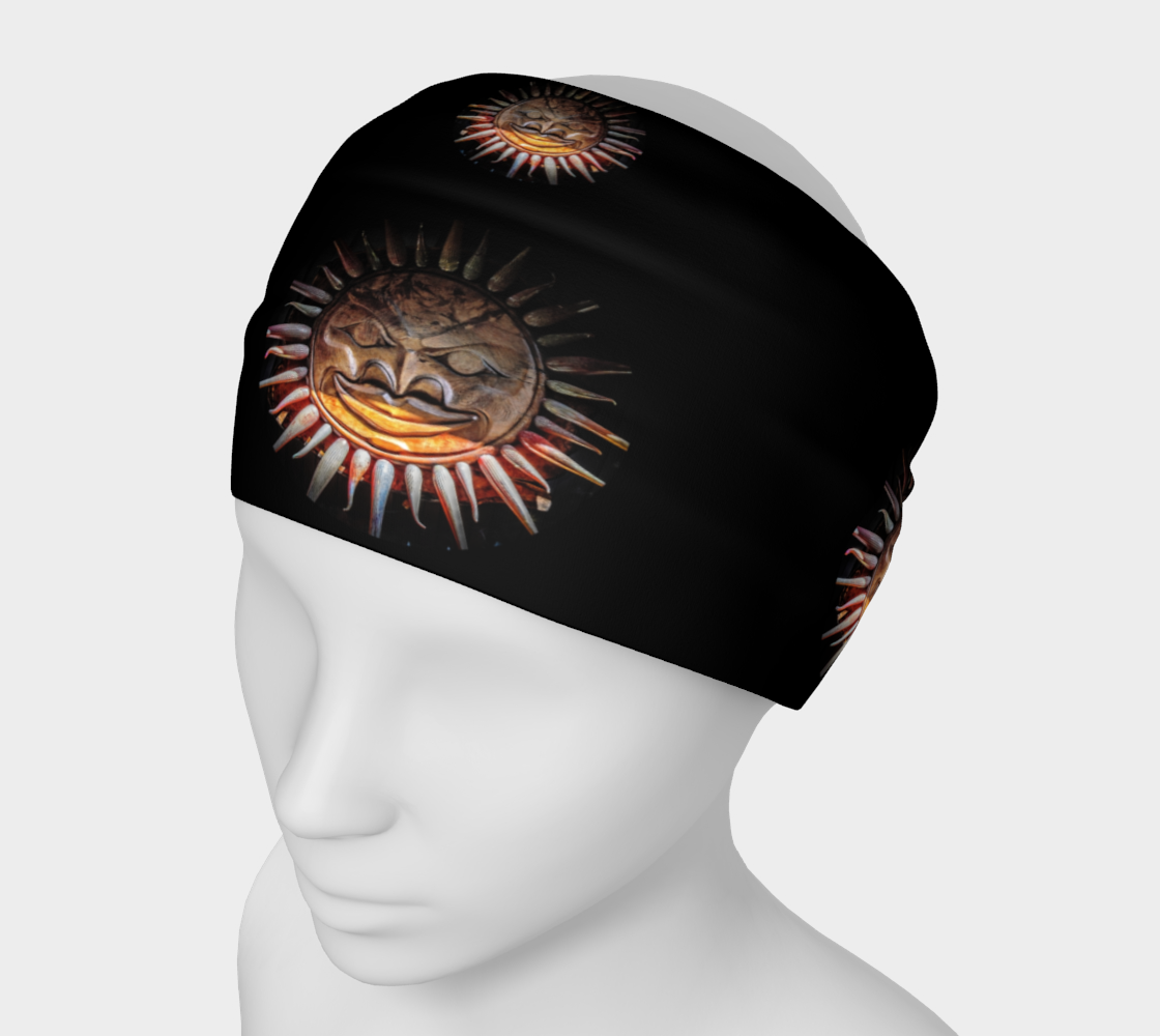 Sun Mask Headband by Roxy Hurtubise VanIsleGoddess.Com