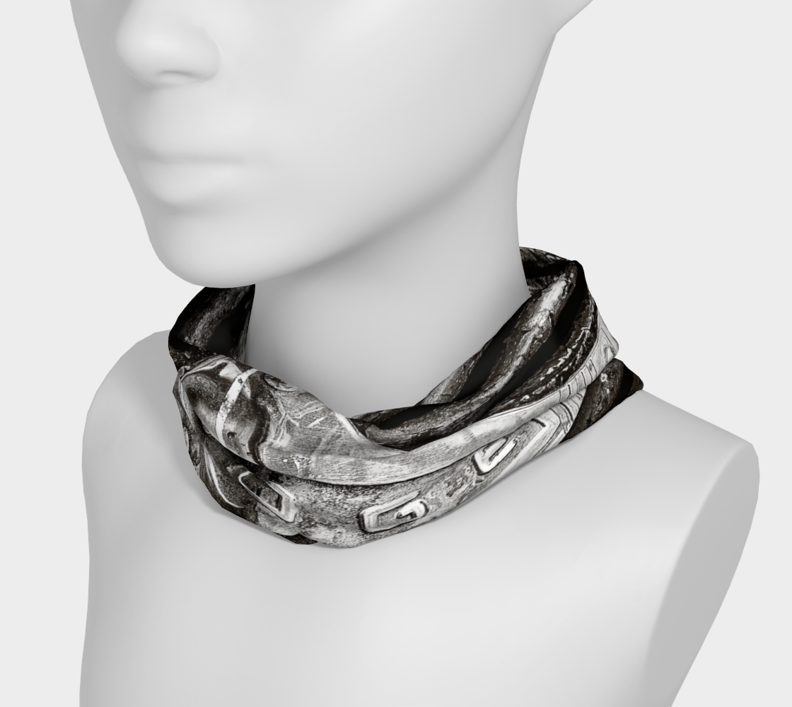 Dodge Girl II Headband by Roxy Hurtubise neck