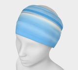 Ocean Blue Headband by Roxy Hurtubise VanIsleGoddess.Com