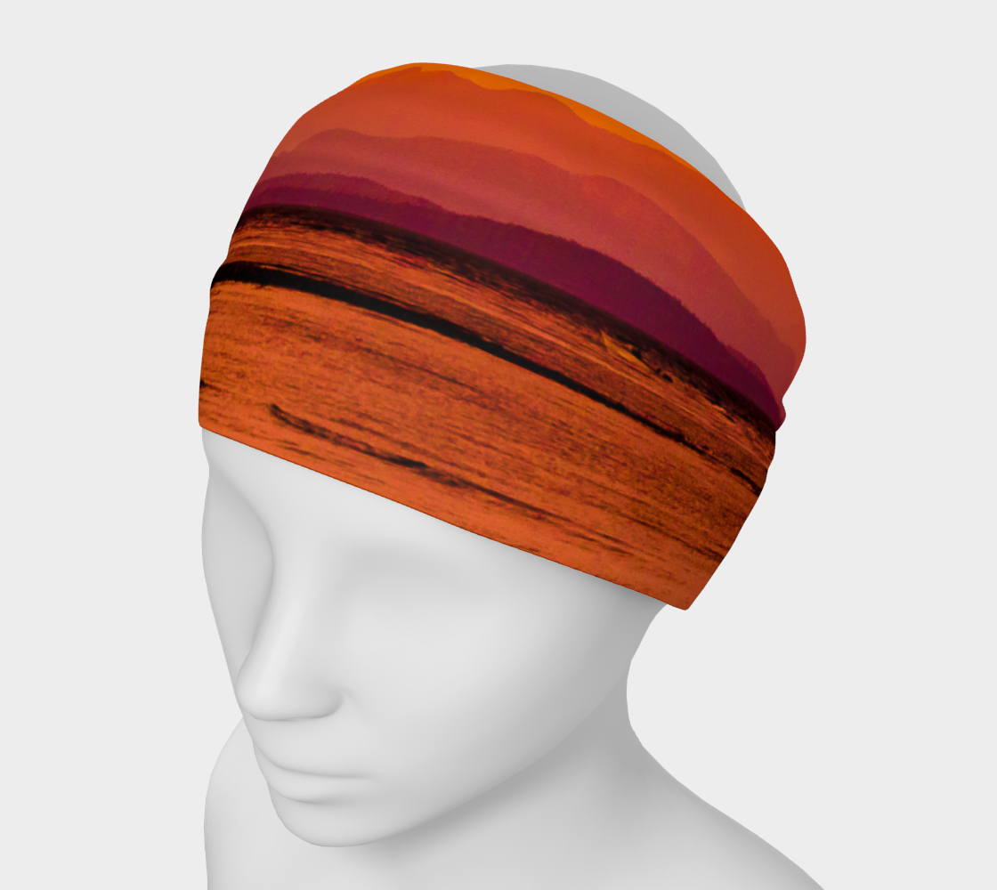 Saratoga Sunset Headband by Roxy Hurtubise VanIsleGoddess.Com