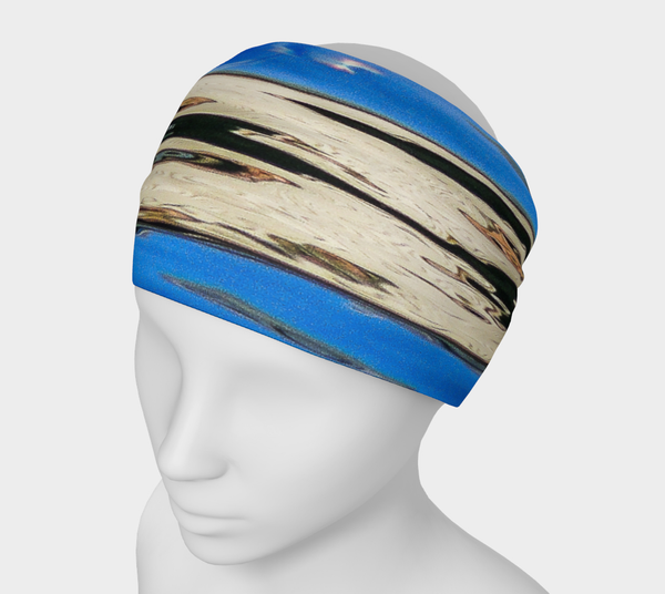 Seal Of Blue Headband by Roxy Hurtubise VanIsleGoddess.Com