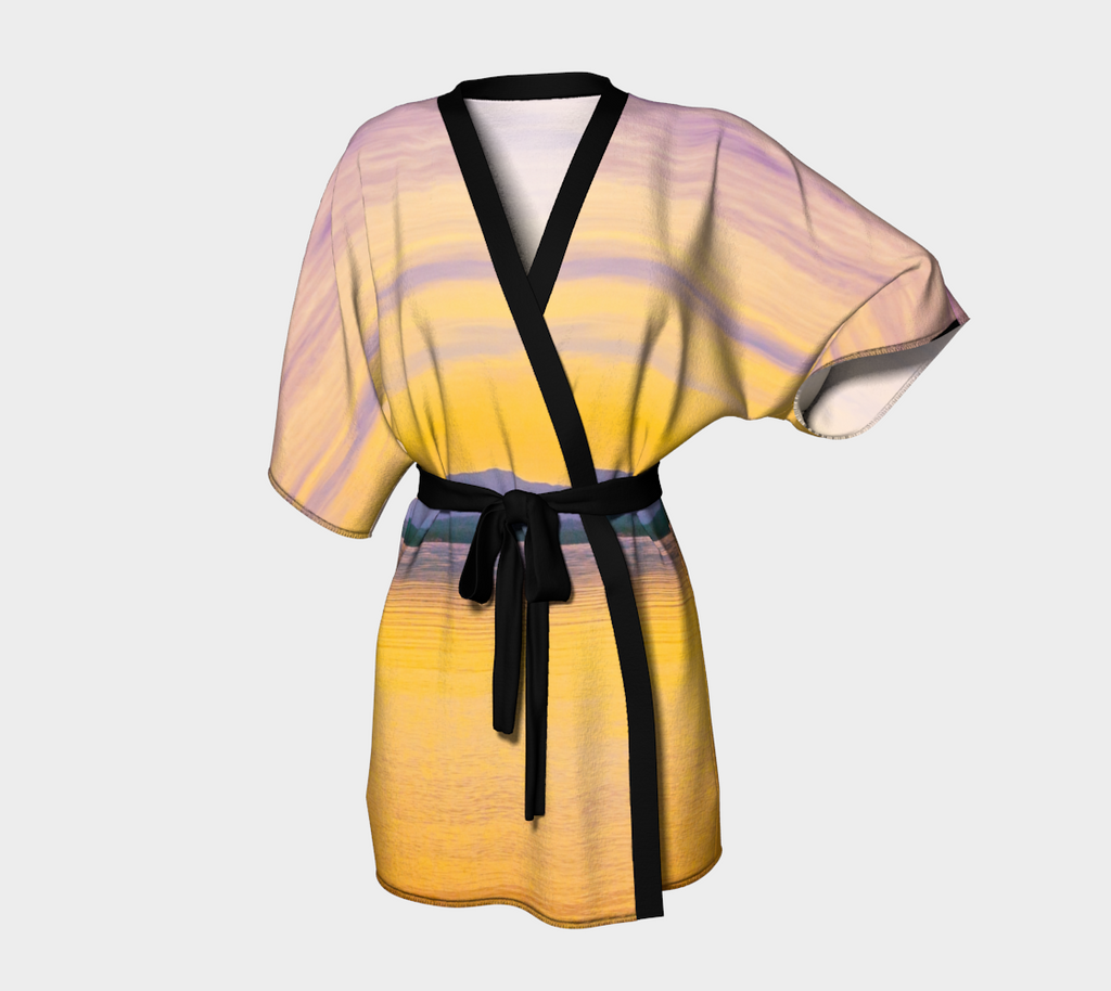 Magic Morning Kimono Robe by Van Isle Goddess of Vancouver Island