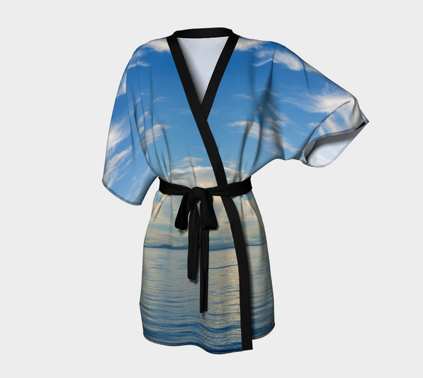 Qualicum Beach Kimono Robe by Van Isle Goddess of Vancouver Island
