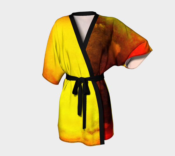 Sunrise Kimono Robe by Van Isle Goddess of Vancouver Island
