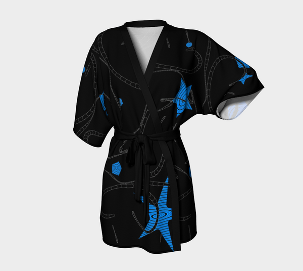 Night Star Kimono Robe by Van Isle Goddess of Vancouver Island