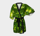 Canopy of Leaves Kimono Robe Front