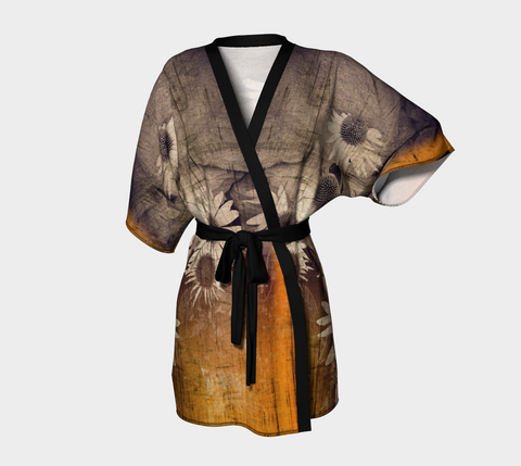 Island Summer Kimono Robe by Van Isle Goddess of Vancouver Island