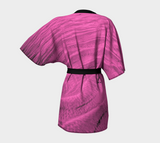Pink Sand Kimono Robe Back by Van Isle Goddess of Vancouver Island