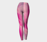 Pink Petal Leggings Back
