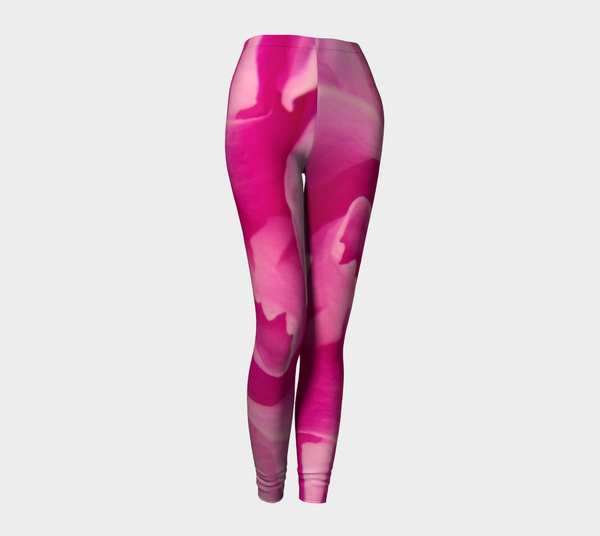 Pink Petal Leggings by Van Isle Goddess of Vancouver Island